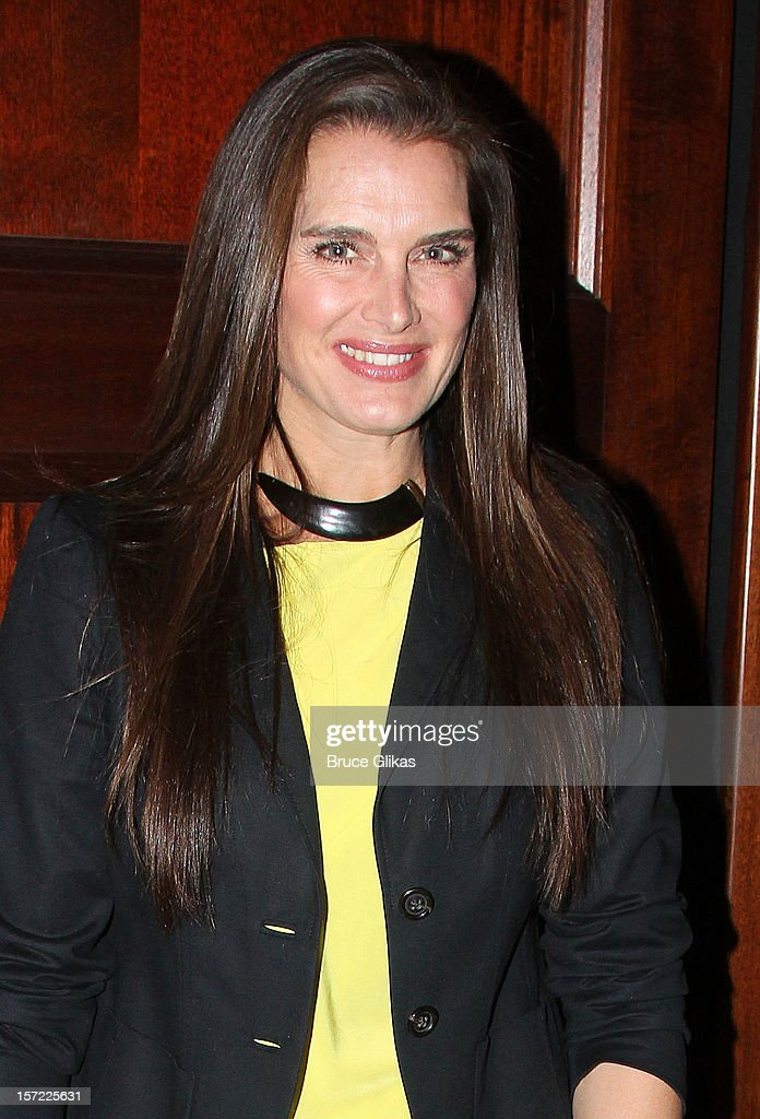 Brooke Shields attends the Opening Night of 'Dead Accounts'on Broadway at The Music Box Theatre on November 29, 2012 in New York City.
