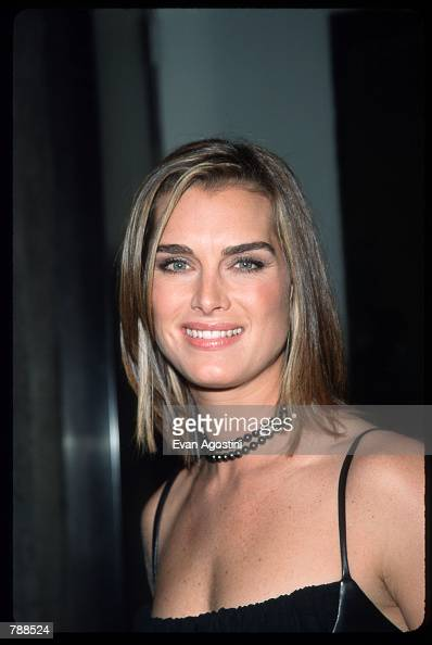Brooke Shields attends the Project A L S 'Tomorrow is Tonight' Benefit Gala September 27 1999 in New York City Project ALS is a nonprofit...