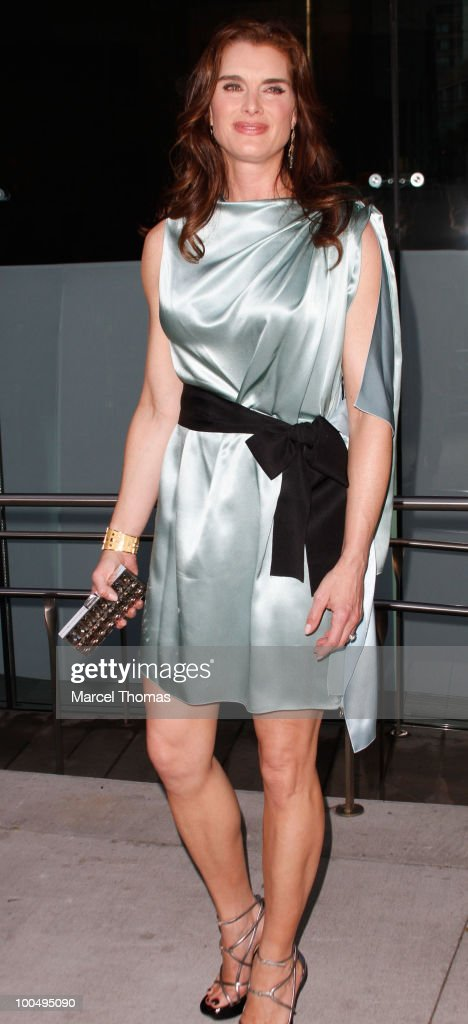 Brooke Shields attends the The Film Society of Lincoln Center's 37th Annual Chaplin Award gala at Alice Tully Hall on May 24, 2010 in New York City.