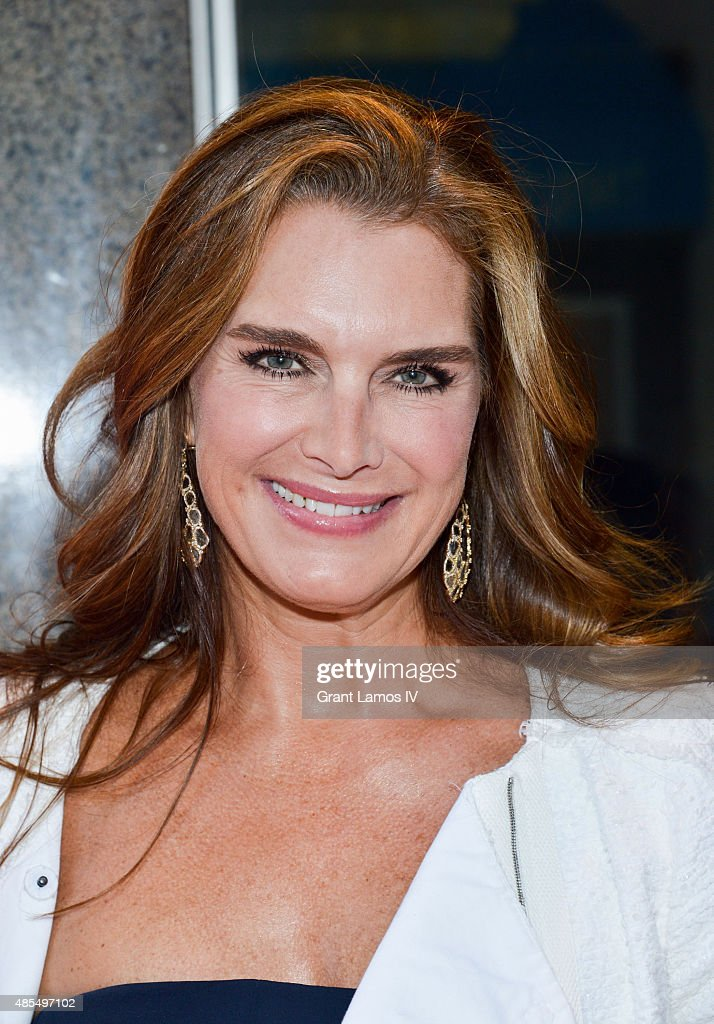 Brooke Shields attends the 'Whorl Inside A Loop' off-broadway opening...