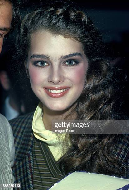 Brooke Shields circa 1980 in New York City