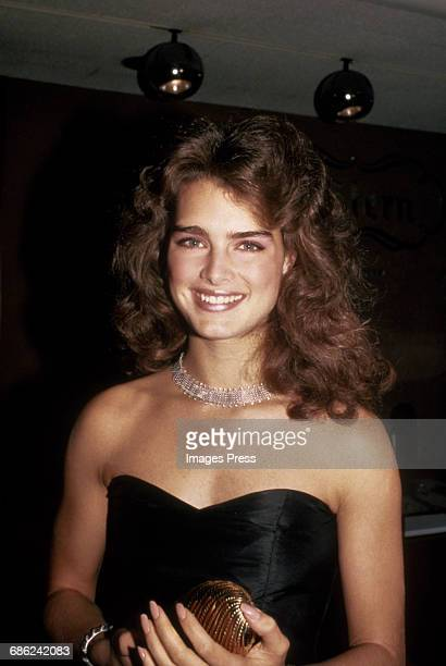 Brooke Shields circa 1983 in New York City