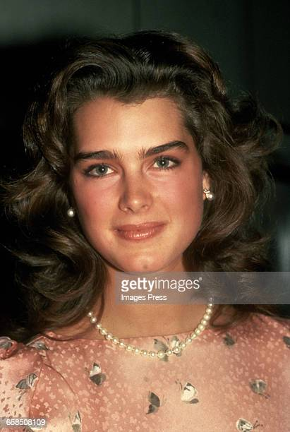 Brooke Shields circa 1984 in New York City