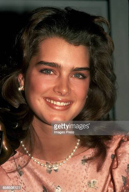 Brooke Shields circa 1984 in New York City