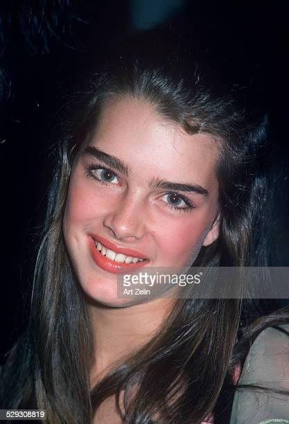 Brooke Shields closeup circa 1970 New York