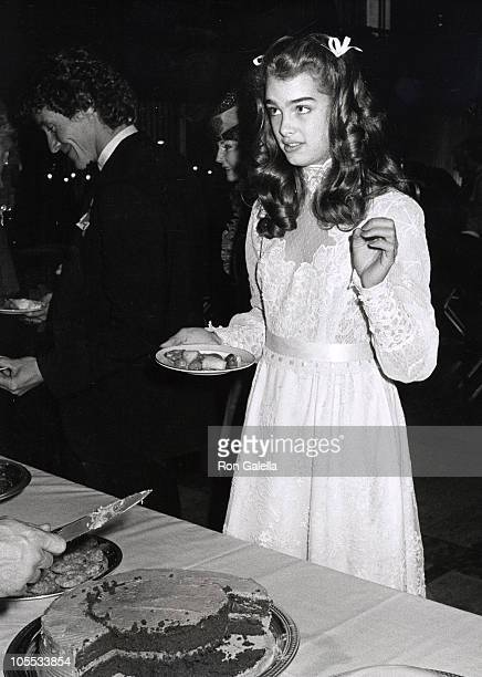 Brooke Shields during Brooke Shields Sighted at NYS Theatre October 29 1979 at Lincoln Center in New York City New York United States