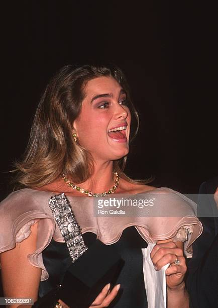Brooke Shields during Gala Italia November 30 1990 at Marriot Marquis Hotel in New York City New York United States