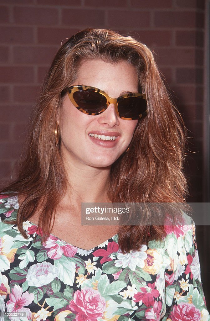 <a gi-track='captionPersonalityLinkClicked' href=/galleries/search?phrase=Brooke+Shields&family=editorial&specificpeople=202197 ng-click='$event.stopPropagation()'>Brooke Shields</a> during Helping Hands Event at Ronald McDonald House - July 22, 1992 at Ronald McDonald House in New York City, New York, United States.