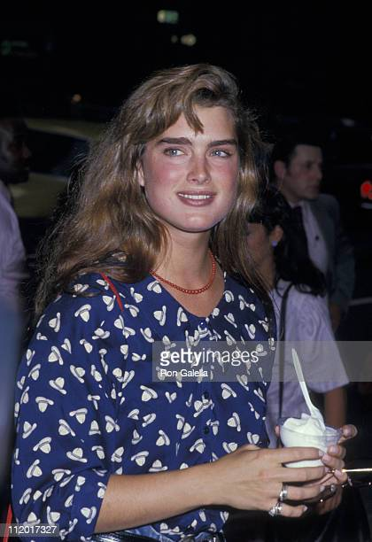 Brooke Shields during 'Midnight Run' New York City Premiere and Party at Sutton Theatre in New York City New York United States