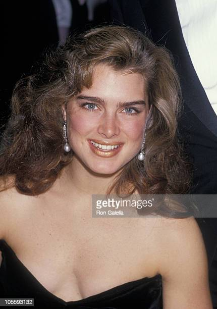 Brooke Shields during Quebec's Winter Carnival The Queen's Ball at Mount St Anne in Beaupre Quebec Canada