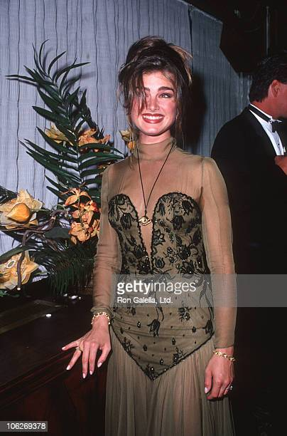 Brooke Shields during Second Annual 'Singular Sensation' Benefiting Claucoma Trust at Maxim's in New York City New York United States