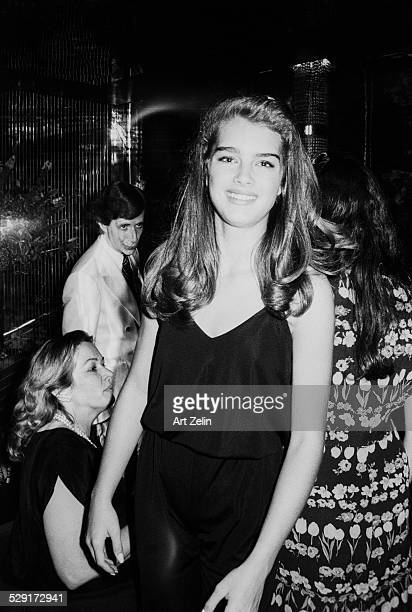 Brooke Shields in a silk jumpsuit circa 1970 New York