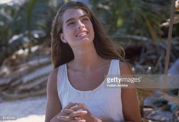 Brooke Shields plays the marooned Emmeline in the desert island adventure 'The Blue Lagoon' directed by Randal Kleiser