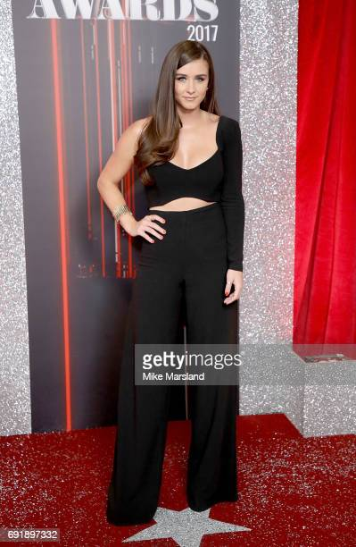 Brooke Vincent attends The British Soap Awards at The Lowry Theatre on June 3 2017 in Manchester England The Soap Awards will be aired on June 6 on...