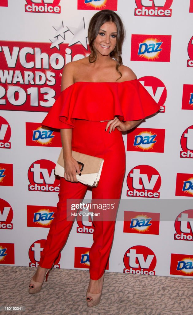 Brooke Vincent attends the TV Choice Awards 2013 at The Dorchester on September 9, 2013 in London, England.