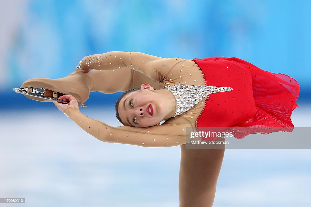 <a gi-track='captionPersonalityLinkClicked' href=/galleries/search?phrase=Brooklee+Han&family=editorial&specificpeople=7526263 ng-click='$event.stopPropagation()'>Brooklee Han</a> of Australia competes in the Figure Skating Ladies' Free Skating on day 13 of the Sochi 2014 Winter Olympics at Iceberg Skating Palace on February 20, 2014 in Sochi, Russia.