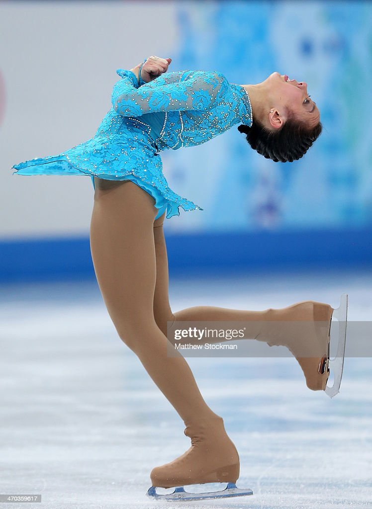 <a gi-track='captionPersonalityLinkClicked' href=/galleries/search?phrase=Brooklee+Han&family=editorial&specificpeople=7526263 ng-click='$event.stopPropagation()'>Brooklee Han</a> of Australia competes in the Figure Skating Ladies' Short Program on day 12 of the Sochi 2014 Winter Olympics at Iceberg Skating Palace on February 19, 2014 in Sochi, Russia.