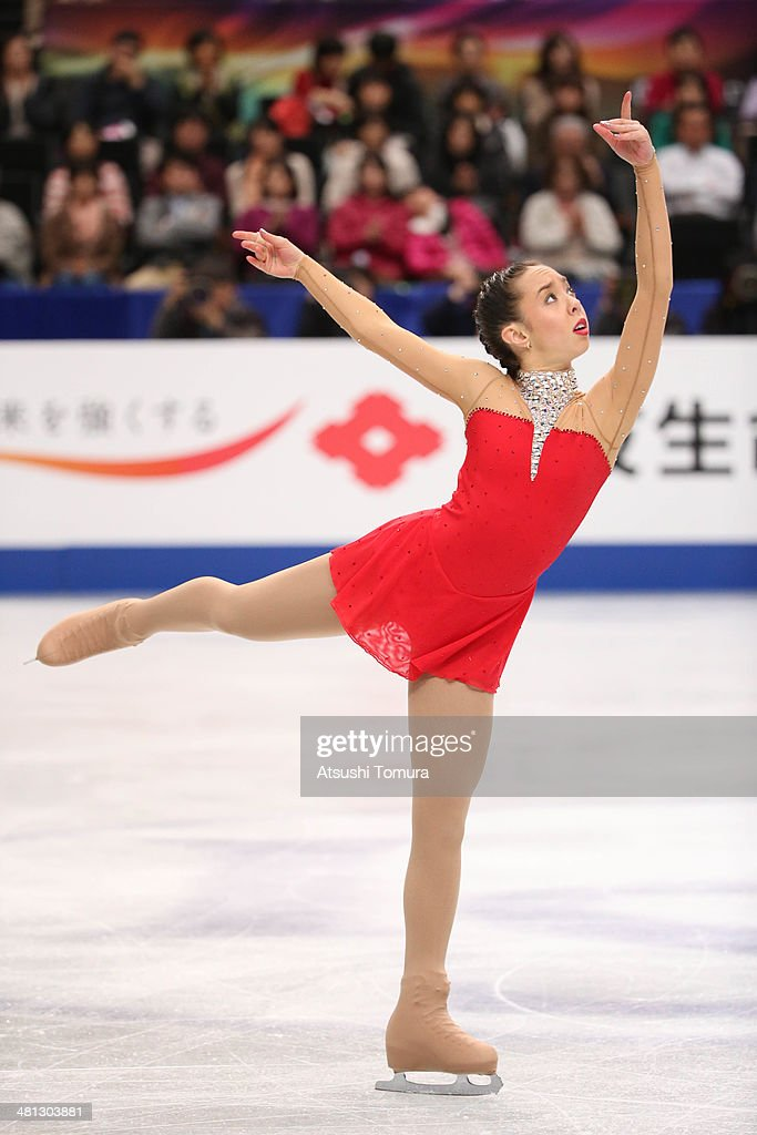 <a gi-track='captionPersonalityLinkClicked' href=/galleries/search?phrase=Brooklee+Han&family=editorial&specificpeople=7526263 ng-click='$event.stopPropagation()'>Brooklee Han</a> of Australia competes in the Ladies Free Skating during ISU World Figure Skating Championships at Saitama Super Arena on March 29, 2014 in Saitama, Japan.