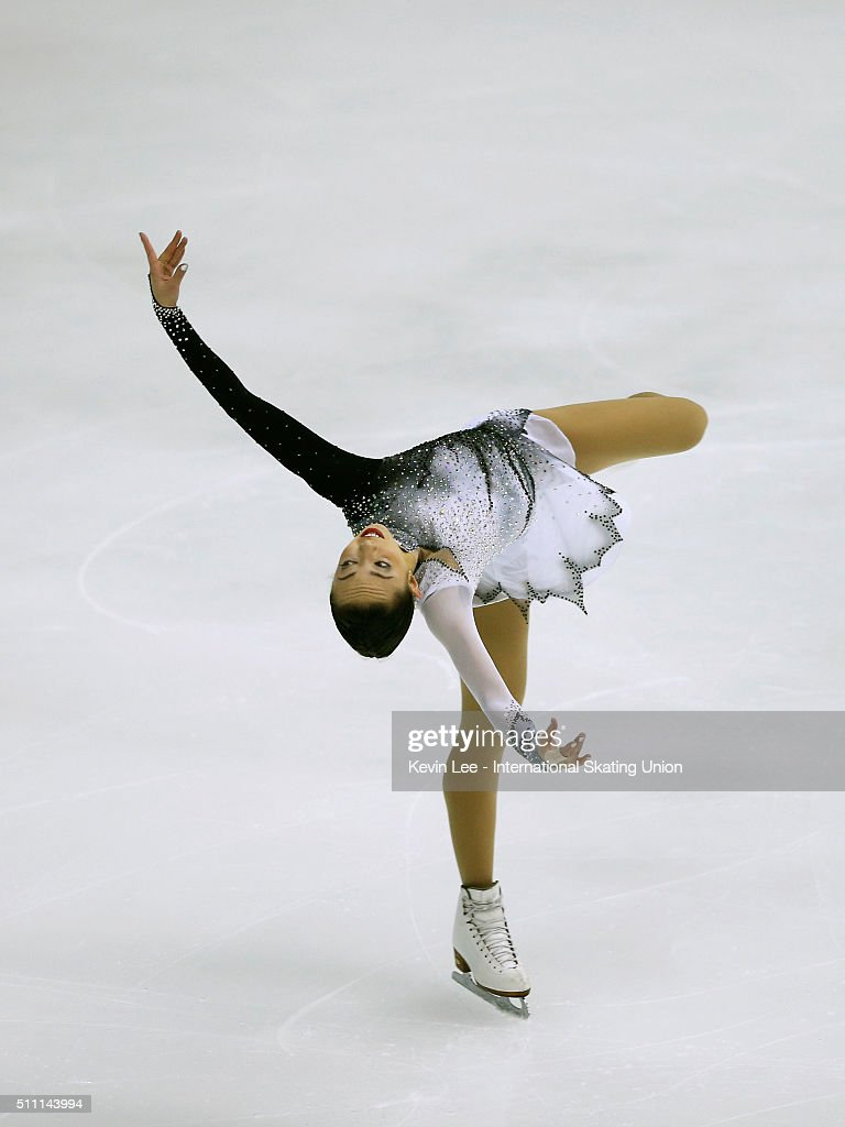 <a gi-track='captionPersonalityLinkClicked' href=/galleries/search?phrase=Brooklee+Han&family=editorial&specificpeople=7526263 ng-click='$event.stopPropagation()'>Brooklee Han</a> of Australia performs during Ladies Short Program on day one of the ISU Four Continents Figure Skating Championships 2016 at Taipei Arena on February 18, 2016 in Taipei City, Taiwan.