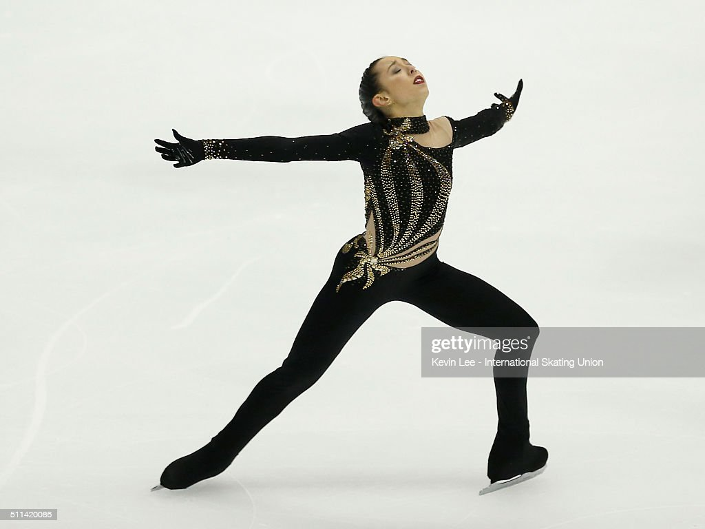 <a gi-track='captionPersonalityLinkClicked' href=/galleries/search?phrase=Brooklee+Han&family=editorial&specificpeople=7526263 ng-click='$event.stopPropagation()'>Brooklee Han</a> of Australia performs during the Ladies Free Skating on day three of the ISU Four Continents Figure Skating Championships 2016 at Taipei Arena on February 20, 2016 in Taipei City, Taiwan.