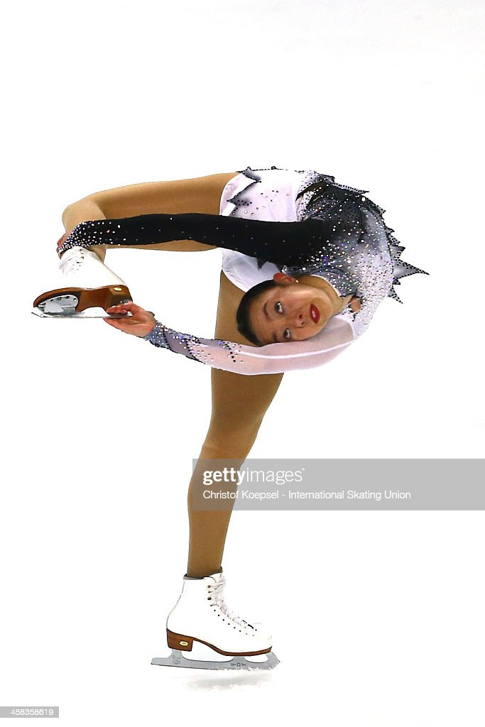 <a gi-track='captionPersonalityLinkClicked' href=/galleries/search?phrase=Brooklee+Han&family=editorial&specificpeople=7526263 ng-click='$event.stopPropagation()'>Brooklee Han</a> of Australia skates during the ladies short program of the ISU Grand Prix at Meriadeck Ice Rink on November 13, 2015 in Bordeaux, France.