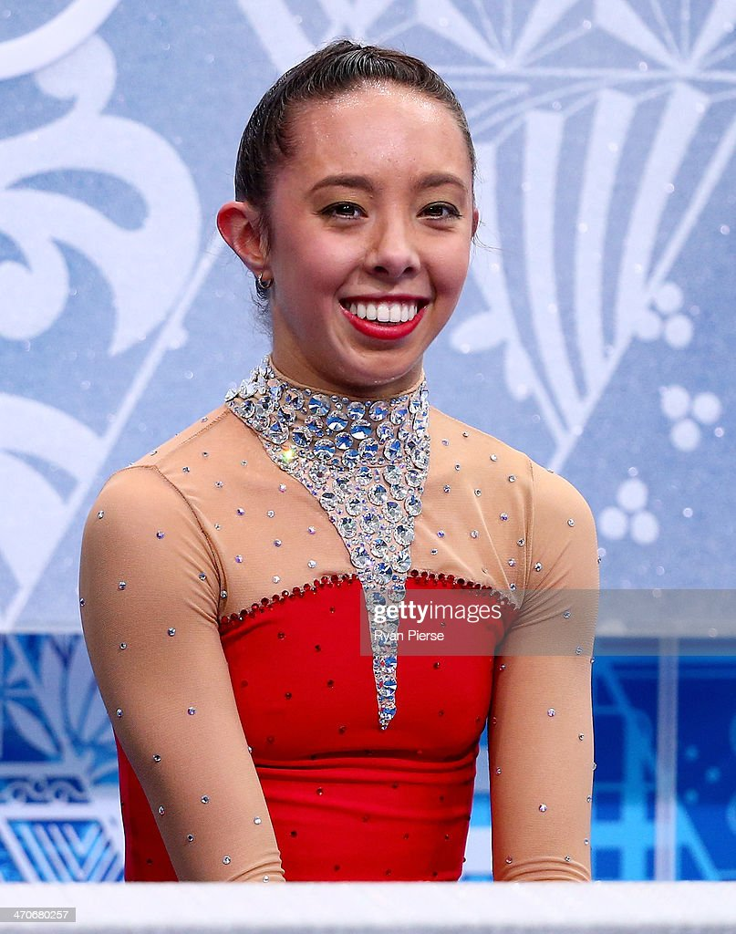 <a gi-track='captionPersonalityLinkClicked' href=/galleries/search?phrase=Brooklee+Han&family=editorial&specificpeople=7526263 ng-click='$event.stopPropagation()'>Brooklee Han</a> of Australia waits for her score in the Figure Skating Ladies' Free Skating on day 13 of the Sochi 2014 Winter Olympics at Iceberg Skating Palace on February 20, 2014 in Sochi, Russia.