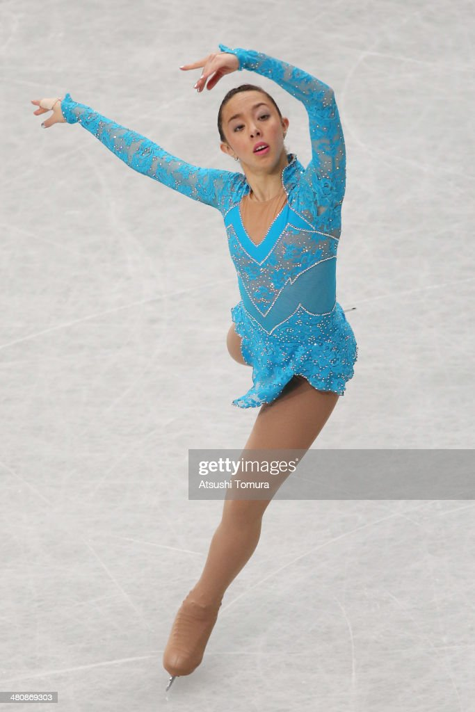 <a gi-track='captionPersonalityLinkClicked' href=/galleries/search?phrase=Brooklee+Han&family=editorial&specificpeople=7526263 ng-click='$event.stopPropagation()'>Brooklee Han</a> of Austria competes in the Ladies Short Program during ISU World Figure Skating Championships at Saitama Super Arena on March 27, 2014 in Saitama, Japan.