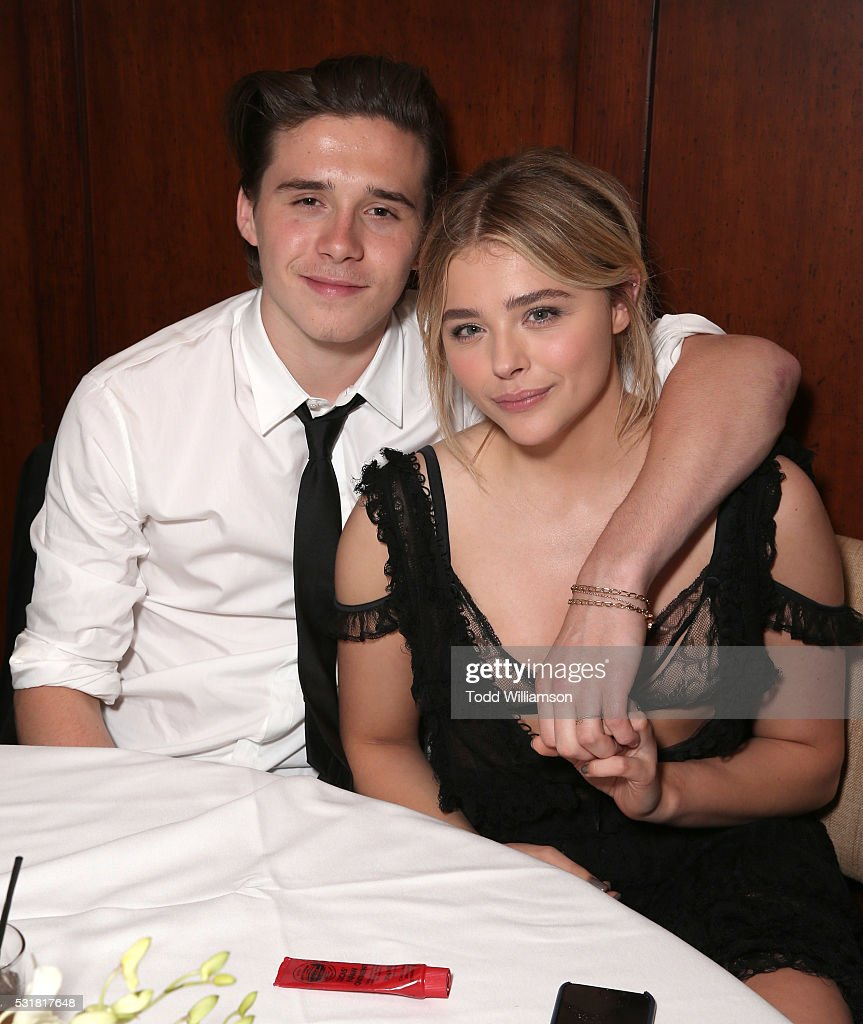 <a gi-track='captionPersonalityLinkClicked' href=/galleries/search?phrase=Brooklyn+Beckham&family=editorial&specificpeople=214623 ng-click='$event.stopPropagation()'>Brooklyn Beckham</a> and Chloe Grace Moretz attend the after party for the premiere of Universal Pictures' 'Neighbors 2: Sorority Rising' on May 16, 2016 in Los Angeles, California.