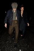 London Celebrity Sightings -  February 18, 2019