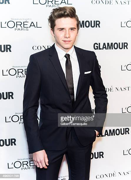Brooklyn Beckham attends Glamour's 25th Anniversary Women Of The Year Awards at Carnegie Hall on November 9 2015 in New York City