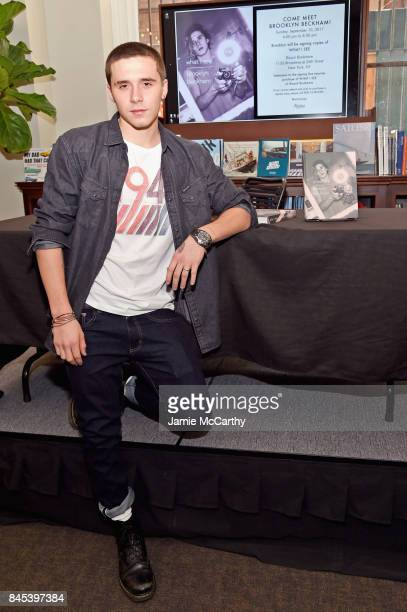 Brooklyn Beckham signs WHAT I SEE at Rizzoli New York at Rizzoli Bookstore on September 10 2017 in New York City