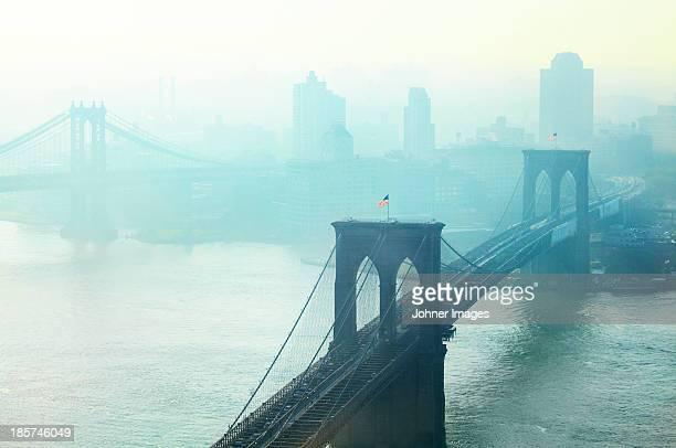 Brooklyn Bridge at dawn