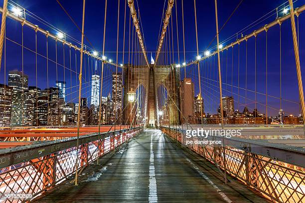 Brooklyn Bridge, Lower Manhattan, New York City
