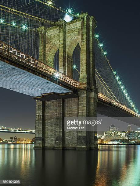 Brooklyn Bridge Night View