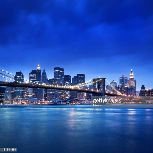 Brooklyn-Brücke in New York City