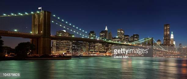 NYC - Brooklyn Bridge Panorama