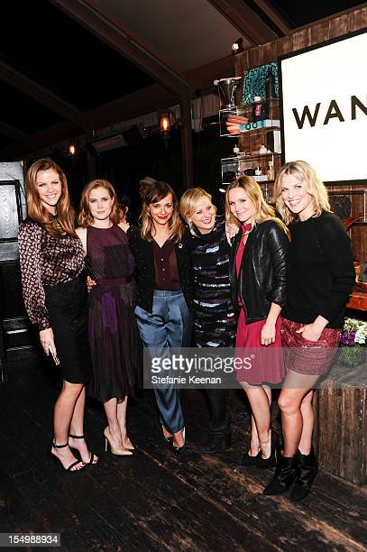 Brooklyn Decker Amy Adams Rashida Jones Amy Poehler Kristen Bell and Ali Larter attend Wantful Art of Giving Los Angeles To Benefit IRC at The...