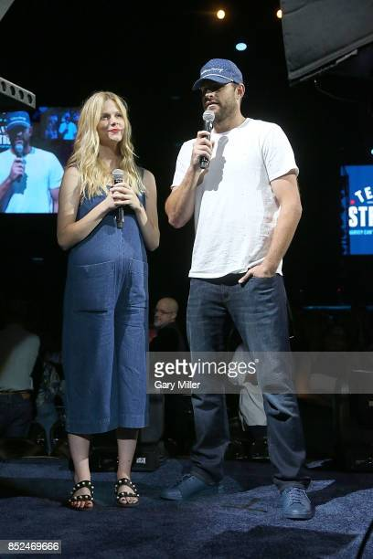 Brooklyn Decker and Andy Roddick emcee the 'Texas Strong Hurricane Harvey Can't Mess With Texas' benefit at The Frank Erwin Center on September 22...