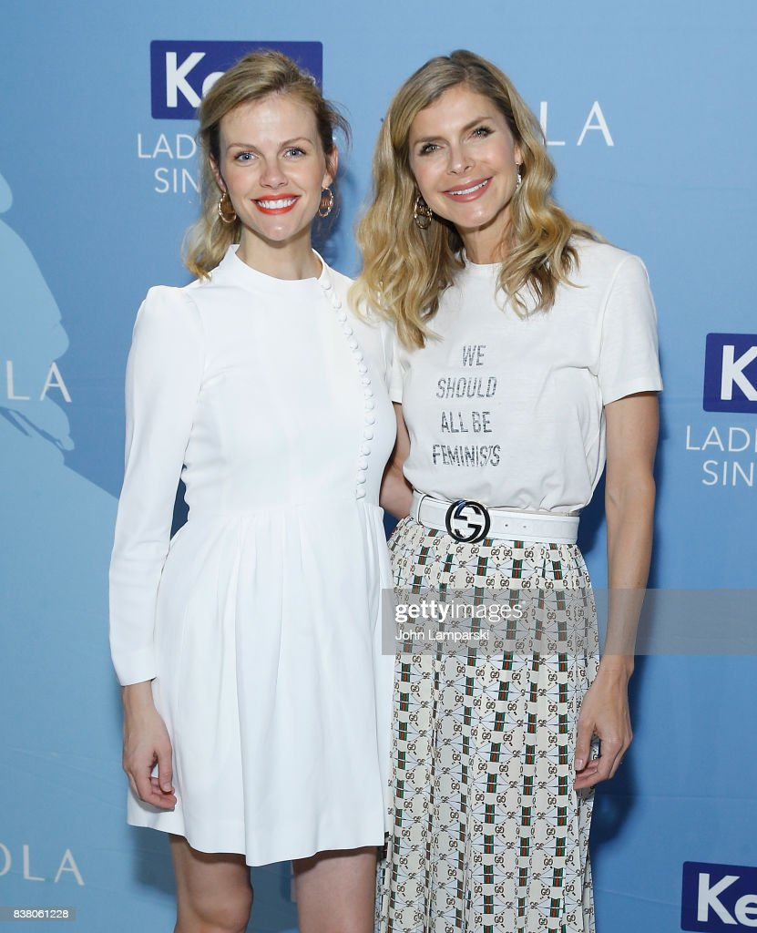 Brooklyn Decker and Finery.com founder, Whitney Casey attends Champion Equality. Make It Your Business Panel in celebration of Women's Equality Day at Neuehouse on August 23, 2017 in New York City.