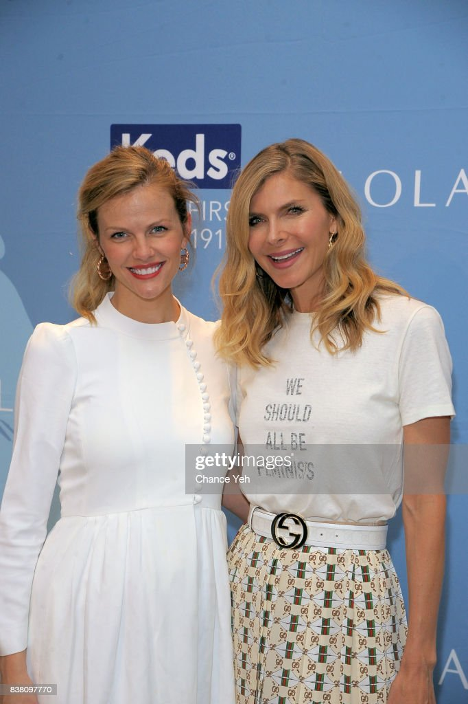 Brooklyn Decker (L) and Whitney Casey attend Champion Equality, Make It Your Business panel in celebration of Women's Equality day at Neuehouse on August 23, 2017 in New York City.