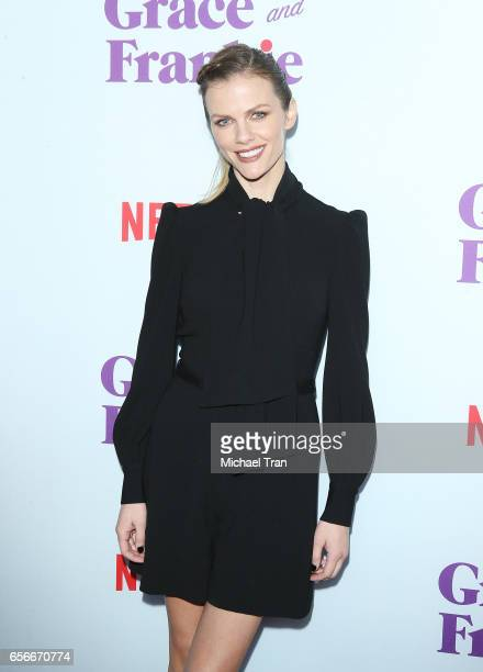 Brooklyn Decker arrives to Netflix's 'Grace And Frankie' Season 3 held at ArcLight Hollywood on March 22 2017 in Hollywood California