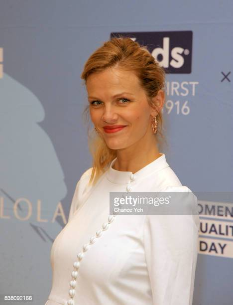 Brooklyn Decker attends Champion Equality Make It Your Business panel in celebration of Women's Equality day at Neuehouse on August 23 2017 in New...