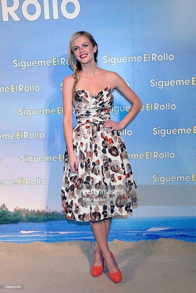 Brooklyn Decker attends the premiere party of 'Sigueme el Rollo' (Just Go With It) at the Room Mate Oscar Hotel on February 22, 2011 in Madrid, Spain.