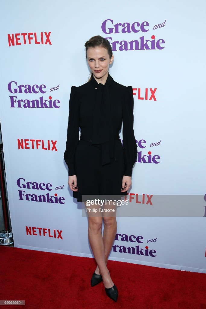 Brooklyn Decker attends the screening for Netflix's 'Grace and Frankie' Season 3 at ArcLight Hollywood on March 22, 2017 in Hollywood, California.