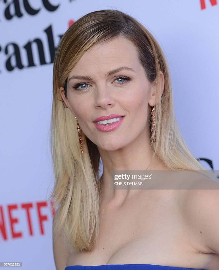 Brooklyn Decker attends the Season 2 Premiere of Grace and Frankie, in Los Angeles, California, on May 1, 2016. / AFP / CHRIS