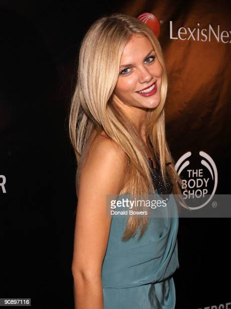 Brooklyn Decker attends the Somaly Mam Foundation NYC benefit gala at 583 Park Avenue on September 17 2009 in New York City