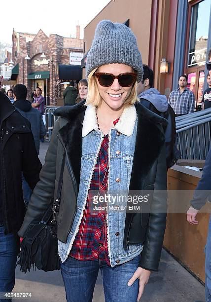 Brooklyn Decker attends the Sorel around Park City on January 26 2015 in Park City Utah