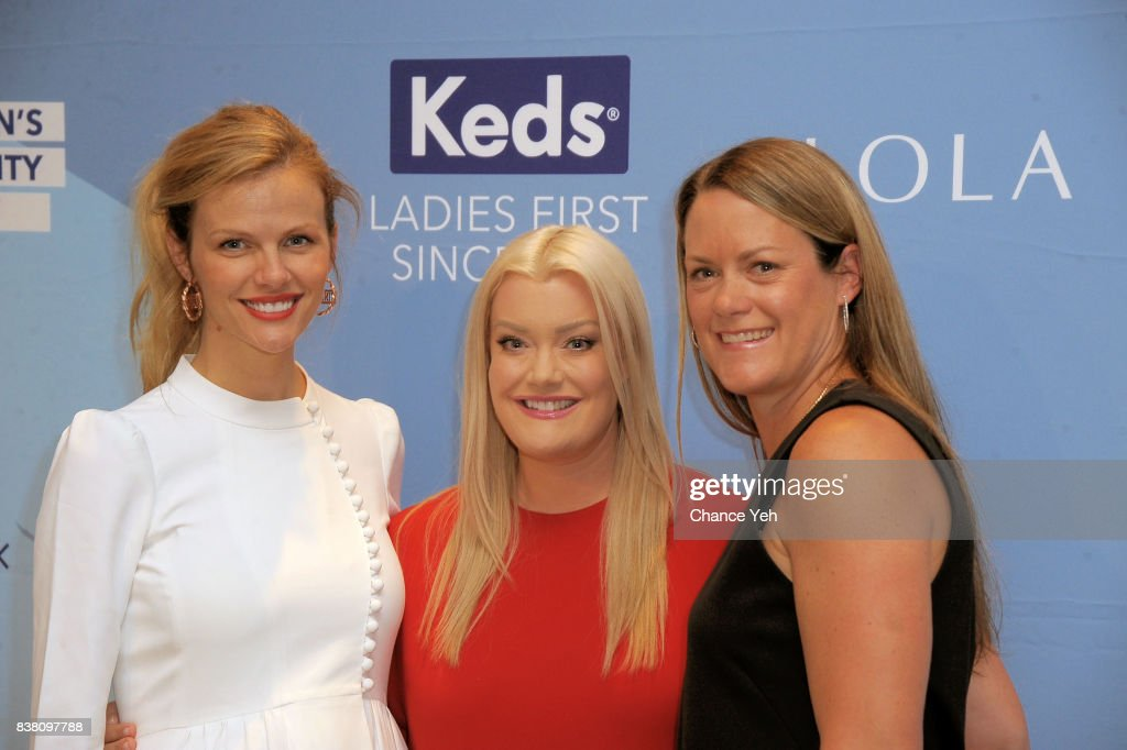 Brooklyn Decker, Jamie Kern Lima and Gillian Meek attend Champion Equality, Make It Your Business panel in celebration of Women's Equality day at Neuehouse on August 23, 2017 in New York City.