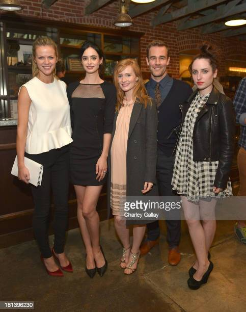 Brooklyn Decker Krysten Ritter Kimberly Van Der Beek James Van Der Beek and Zoe Lister Jones attend the Lord Colin O'Neal Art Show At Confederacy...