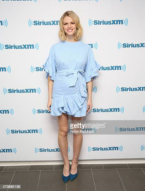 Brooklyn Decker visits at SiriusXM Studios on May 18 2015 in New York City